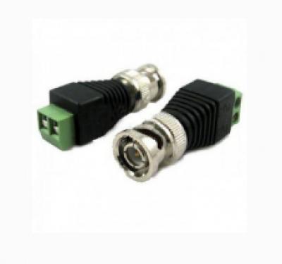Detalhes do produto CONECTOR BNC ZEDEC - MACHO COM BORNE PARAFUSO