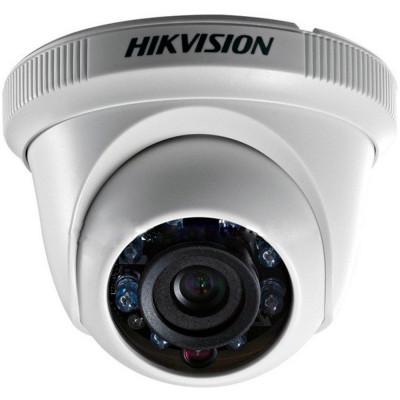 Detalhes do produto Câmera Hd Hikvision Dome Plástica Branca DS-2CE56C0T-IRP