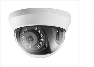 Detalhes do produto Câmera Hikvision Dome Turbo HD - DS-2CE56C0T-IRMM